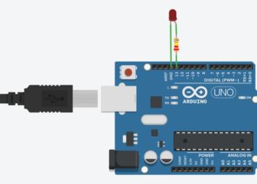 #Arduino / Урок №0 Мигающий светодиод
